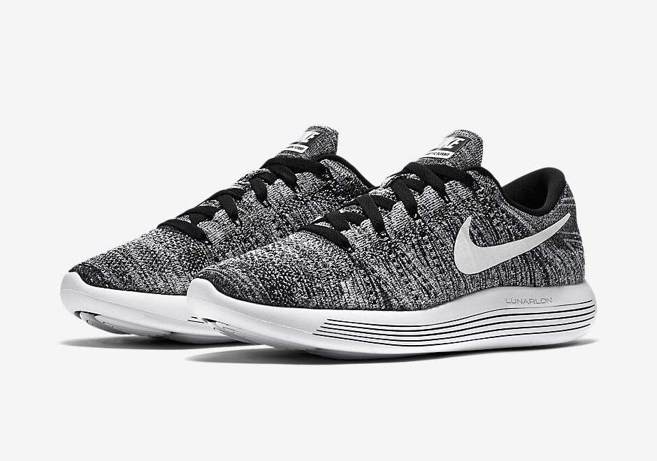 Lunarepic Low Flyknit Black / White Feminino