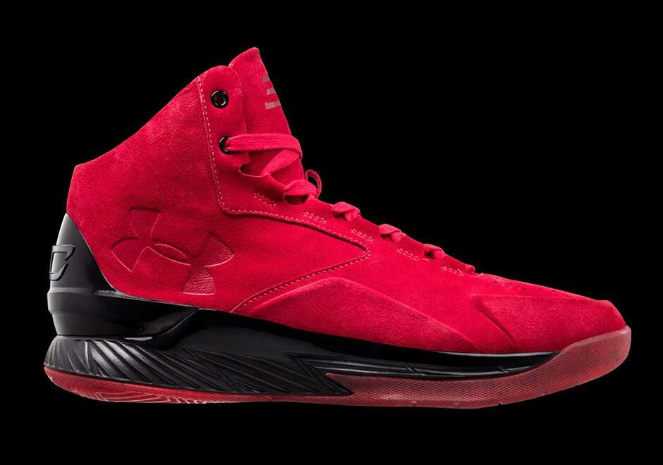 Curry 1 Lux MID Red / Black / Red Masculino