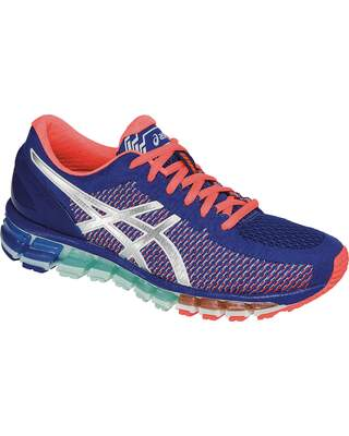 Gel Quantum 360 Chameleon Mesh Blue / White / Flash Coral Feminino
