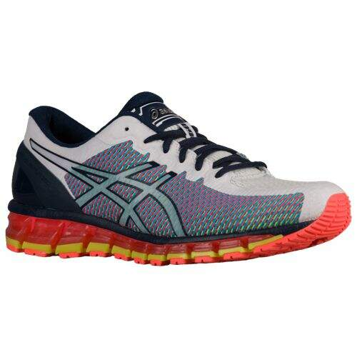 Gel Quantum 360 Chameleon Mesh White / Dark Navy / Safety Yellow Masculino