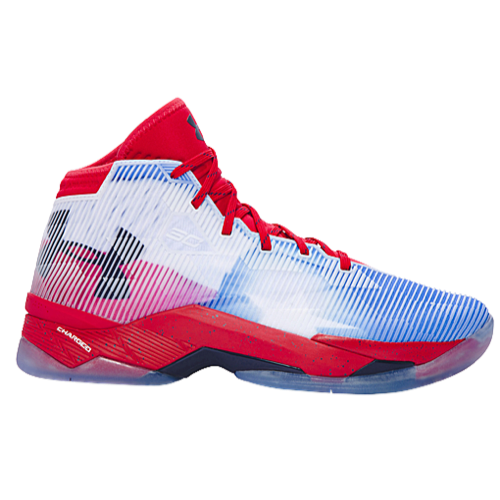 Curry 2.5 Red / White / Midnight Navy Masculino