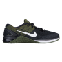 Metcon DSX Flyknit Black / White / Rough Green Feminino