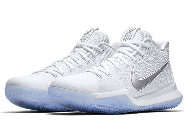Kyrie 3 White / Chrome Masculino