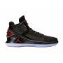Jordan AJ XXXII Mid Black / University Red Infantil
