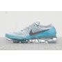 Air VaporMax Flyknit Pure Platinum / Glacier Blue / Polarized Blue / Metallic Silver Feminino
