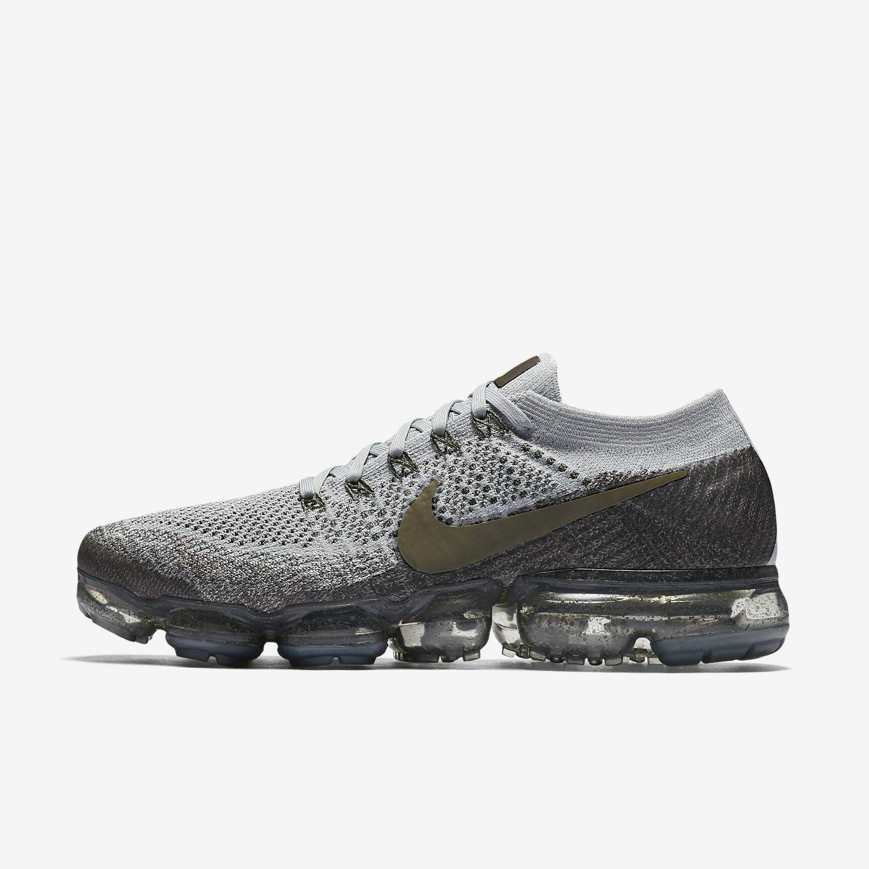 hot sale online 10618 3e653 Air VaporMax Flyknit Midnight Fog / Wolf Grey / Sonic Yellow / Medium Olive  Masculino - CONRADO IMPORTADOS