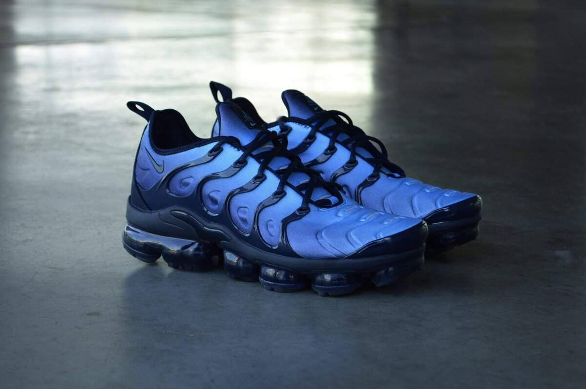 Air VaporMax Plus Obsidian / Obsidian / Photo Blue / Black Masculino
