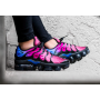 Air VaporMax Plus Black / Team Red / Hyper Violet / Black Feminino