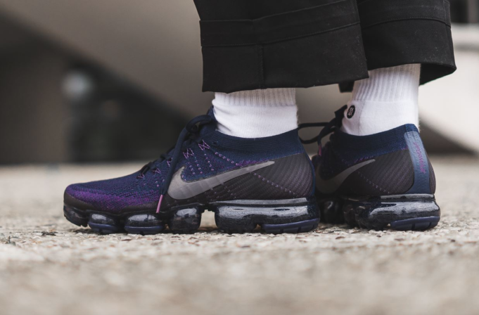 2e07e940cb14 Air VaporMax Flyknit College Navy   Night Purple   Clear Jade   Dark Grey  Masculino