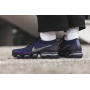 Air VaporMax Flyknit College Navy / Night Purple / Clear Jade / Dark Grey Masculino