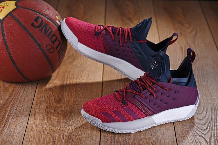 Harden Vol. 2 Red / Red / Grey Masculino