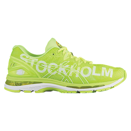 Gel Nimbus 20 Flash Yellow / Stockholm edição limitada City Icons Pack Feminino