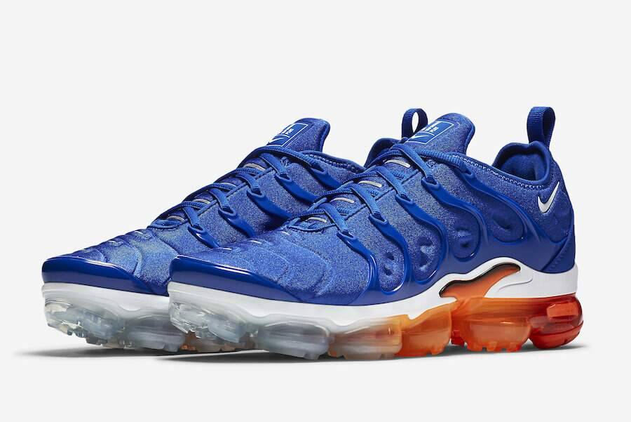 Air VaporMax Plus Game Royal / Black / Total Orange  /White Masculino
