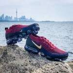 Air VaporMax 2 Team Red / Wheat / Obsidian / Black / College Navy Masculino