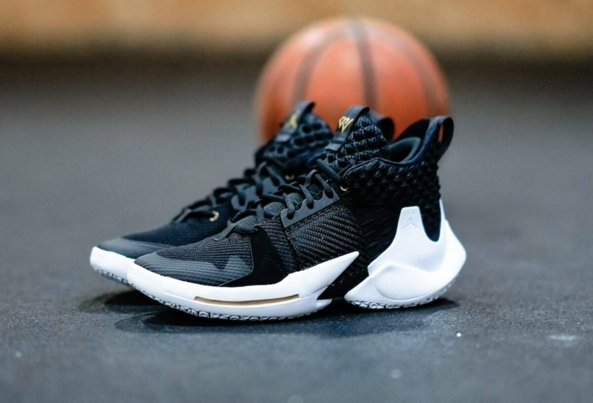 Jordan Why Not Zer0.2 Black / White Masculino