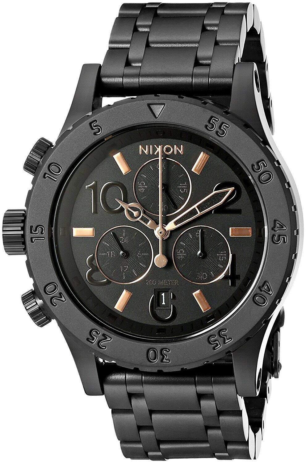 38-20 Chronograph All Black / Rose Gold