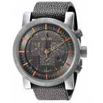 Magnacon II Stainless Steel and Leather Grey