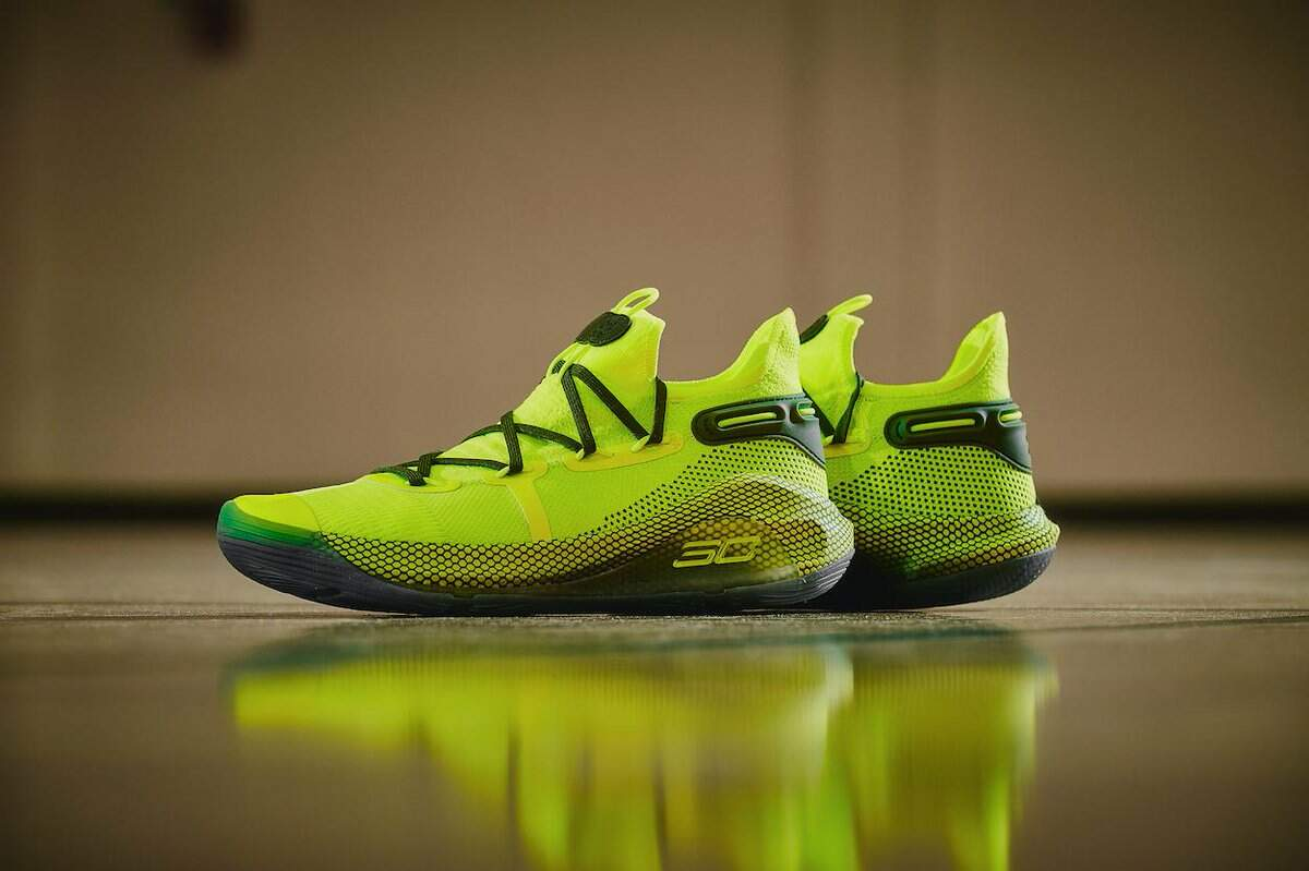 Curry 6 High Vis Yellow Masculino