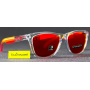Frogskins Polished Clear / Prizm Ruby Edicao Limitada Grips Collection OO9013-E155