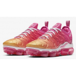 Air VaporMax Plus Laser Fuchsia / Psychic Pink / University Gold / White Feminino