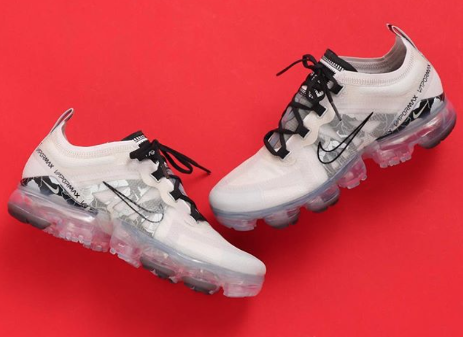 Air VaporMax 2019 Vast Grey / Black / Metallic Silver Feminino
