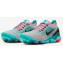 Air VaporMax 3 Flyknit Plum Chalk / Red Orbit / Hyper Jade / Black Feminino