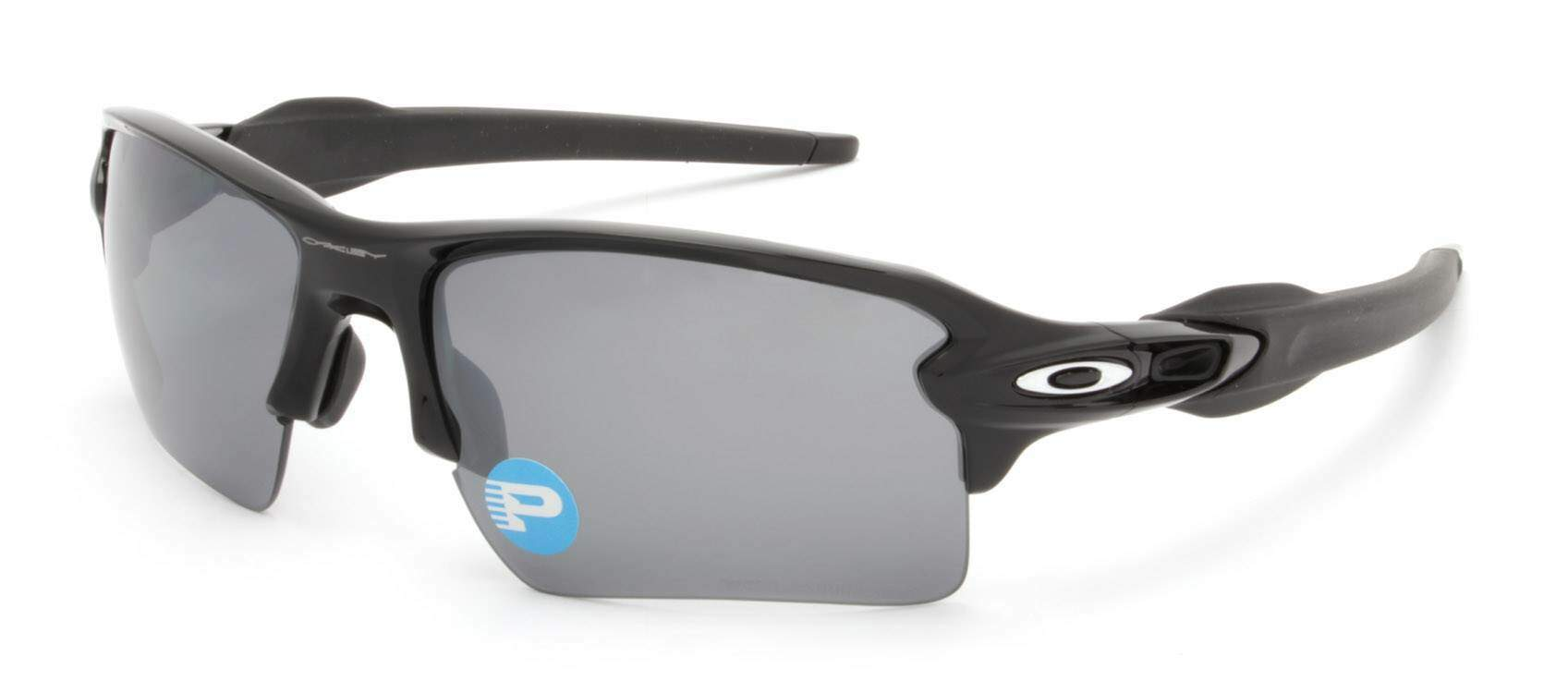 Flak 2.0 XL Polished Black / Black Iridium Polarized OO9188-08