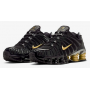 Shox TL Black / Metallic Gold / Metallic Silver x Neymar Jr. Masculino