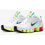 Shox TL White / Luminous Green / Bright Violet / Black Feminino