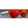 Frogskins Lite Matte Translucent Red / Prizm Ruby OO9374-0663