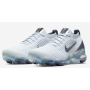 Air VaporMax 3 Flyknit White / Pure Platinum / Dark Grey / Metallic Silver Feminino
