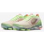 Air VaporMax 3 Flyknit Barely Volt / Pink Tint / Metallic Silver / Diffused Taupe Feminino