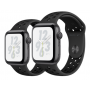 Apple Watch Nike+ Series 4 pace Gray Aluminum Case with Anthracite / Black Nike Sport Band 40mm
