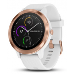 Vivoactive 3 White with Rose Gold