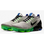 Air VaporMax 3 Flyknit Vast Grey / Dark Stucco / Electric Green / Black Masculino