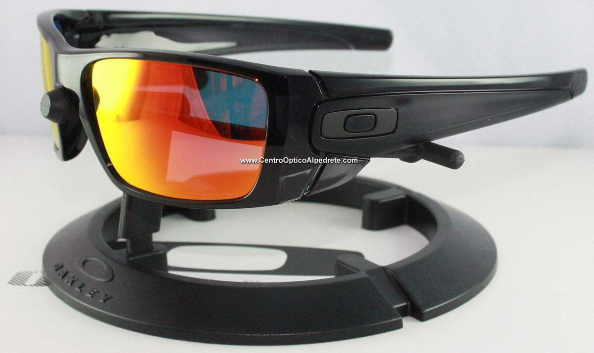 Fuel Cell Black Ink / Prizm Ruby Polarized OO9036-K060