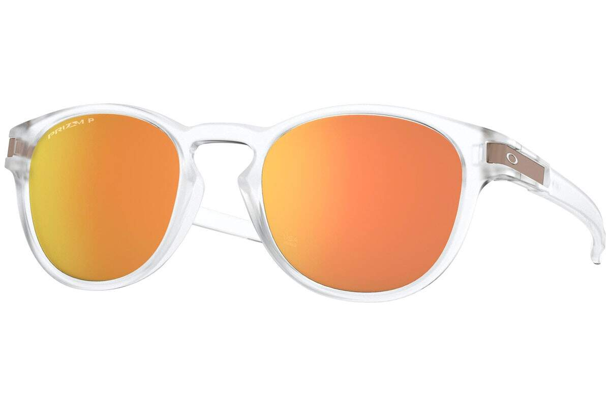 Latch Matte Clear / Prizm Rose Gold Polarized OO9265-52