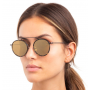 Wynwood Ace Flame / Black With Gold Flat Lenses