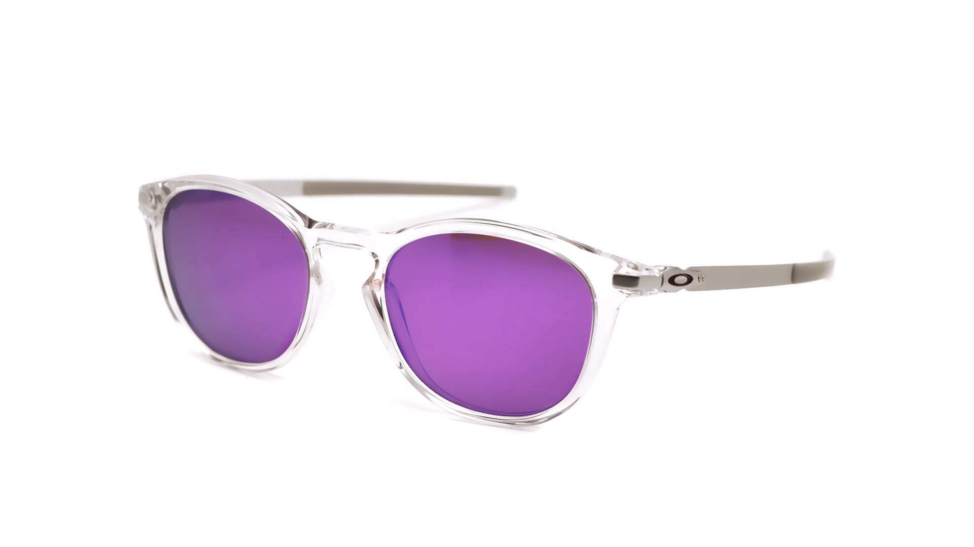 Pitchman R Polished Clear / Prizm Violet OO9439-12