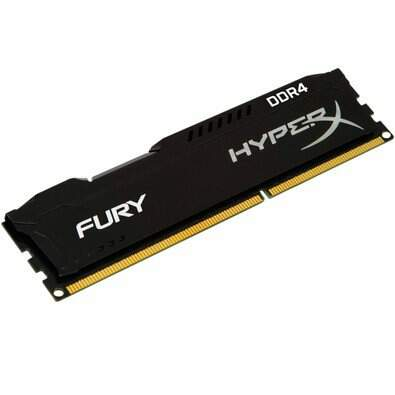 Memória Kingston HyperX FURY 4GB 2133Mhz DDR4 Black Series