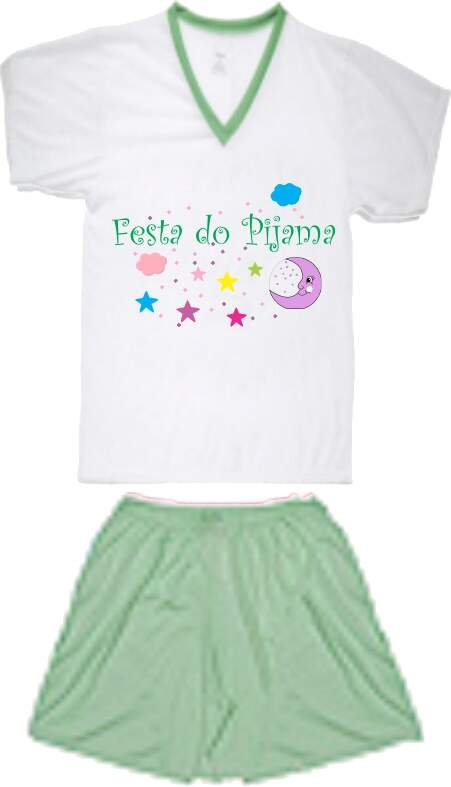 Festa do Pijama - Kit com 10 Pijamas ou Camisolas
