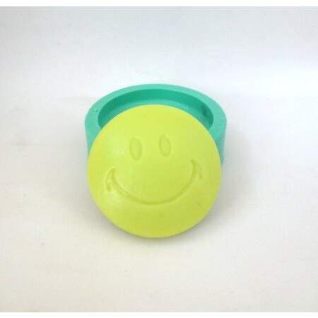 Molde de Silicone de Smiley