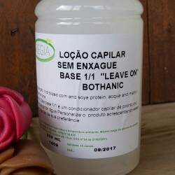 Loção Capilar Sem Enxague Regia Bothanic (Leave On)  - 500ml
