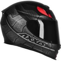 CAPACETE AXXIS EAGLE SNAKE MATT BLACK / GREY