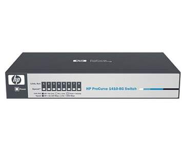 Switch HPN J9559A 1410 8G Switch 8 10/100/1000 - HP Network - 8 portas 10/100/1000