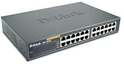 Switch 24 portas DES-1024D - D-Link
