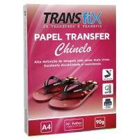 Papel Transfer Laser A4 para Chinelo - 10 Folhas