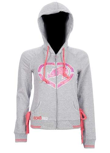 Ecko Red All Star Crush Hoodie Feminina cor cinza