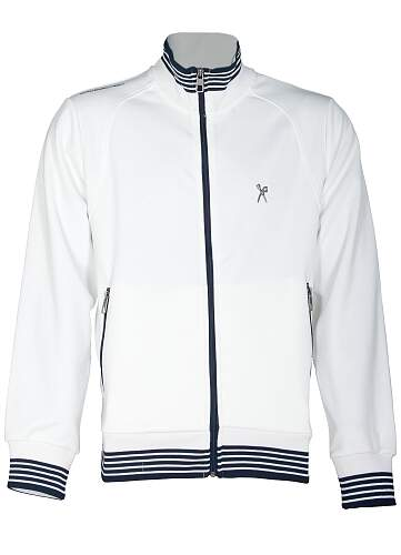 Marc Ecko Track Jacket Simple Plane Masculina cor Branca