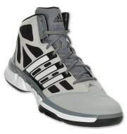 Tenis Adidas Stupidly Light Masculino para basketball cinza preto e branco